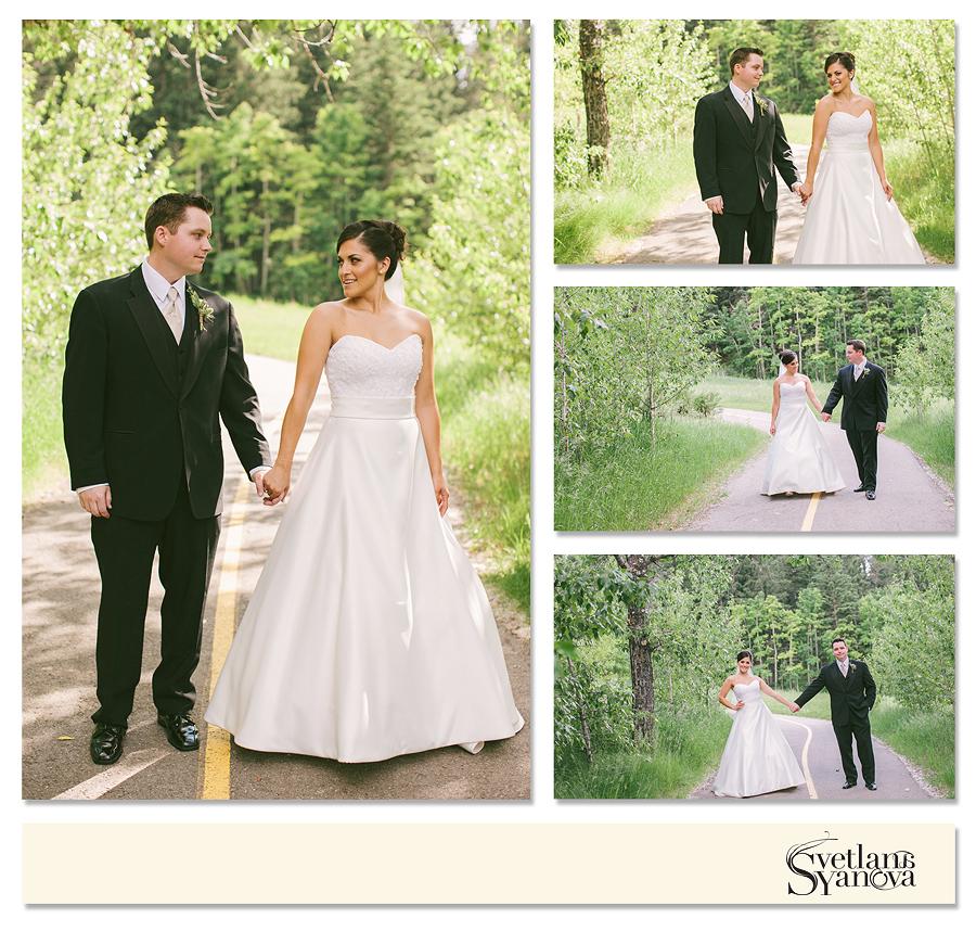 Outdoor Wedding Ceremony Calgary: Valley Ridge Golf Club Wedding Photos: Rebeca And Brent