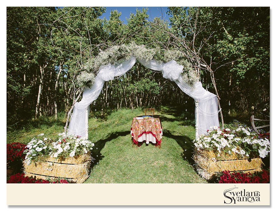 small backyard wedding Calgary, calgary wedding photographers, calgary wedding photos, calgary diy wedding, fireworks at weddings calgary, russian wedding calgary, russian style wedding calgary, bentley car at weddings, outdoor ceremony calgary, forest ceremony, forest wedding photos